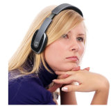 極めて薄い無線Bluetoothのステレオのヘッドセットのヘッドホーン