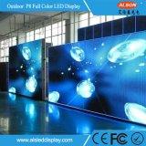 Высокий водоустойчивый экран СИД TV полного цвета IP65 напольный P8 арендный