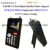 "3.5""Digital Satellite Finder l'appui DVB-S2/Test de signal MPEG-4"