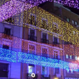 Ce&RoHS genehmigte Großhandelseiszapfen-Zeichenkette-Licht der qualitäts-LED 4*1m144LED