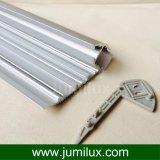 훈장을 점화하는 층계를 위한 알루미늄 LED 밀어남