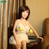 125cm hochwertiges Geschlechts-Produkt-erwachsene Spielzeug-Silikon-Geschlechts-Puppe