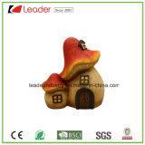 屋内および屋外の装飾のための装飾的な手塗りの樹脂のきのこの置物