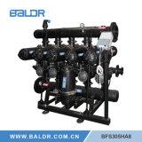 Super automatisches Wellengang-Wasser-Filter-Landwirtschafts-Berieselung-Spaltölfilter-System