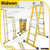 De Ladder Afsluitbare Grote Gezamenlijke Vouwbare Laddder van de Glasvezel van Muitipurpose