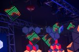 Свет украшения фона потолочного освещения света кубика цвета СИД волшебный