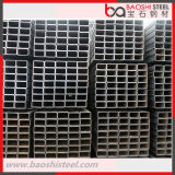 Tubos de tubo soldado ERW rectangular de perfiles tubulares de acero