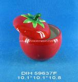 Vaso di ceramica dipinto a mano della spezia del pomodoro