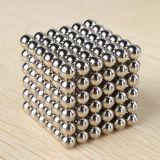 Esferas magnéticas do cubo do tamanho 216PCS de Magico 4mm 5mm do cubo do Neodymium da classe N35