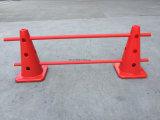 Cono di formazione in materia di sicurezza della plastica di standard 35.5cm del Perù