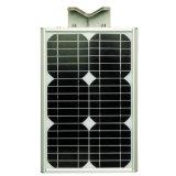 5W-120W庭のための時間制御を用いる統合されたLEDの太陽街灯
