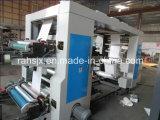 Machine de presse à impression flexographique à moyenne vitesse de 4 couleurs 1000mm