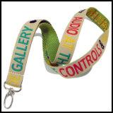 Шелк/Satin тканого/Жаккард/логотип вязания Custom шнурок для отображения
