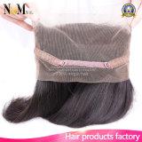 工場供給のブラジルのバージンの人間の毛髪22.5 x 4 x 2絹のまっすぐに360のレースのFrontal