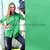 숙녀를 위한 T-Shirt Fabric 100%년 폴리에스테 연약한 진주 시퐁 직물