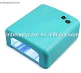 Mejor Precio de promoción de la venta de 36W Lámpara UV de curado UV Uñas 818 Lámpara Secador de uñas