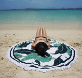 Nuovo Roundie tovagliolo di spiaggia di 2017, tovagliolo rotondo con le nappe, tovagliolo di spiaggia rotondo limitato