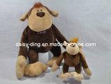 De Orangoetan van de Zitting van de pluche met Nieuw Materiaal