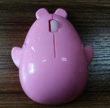 호리호리한 귀여운 3D USB에 의하여 타전되는 광학 마우스 Jo14 마우스