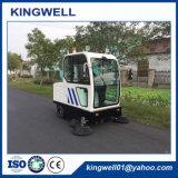 Automobile che scarica la spazzatrice di strada elettrica della via da vendere (KW-1900F)