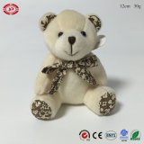 Trousseau de clés doux de jouet bourré par peluche bon marché promotionnelle d'ours de nounours
