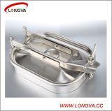 Tipo de presión tanque de acero inoxidable tapa de registro