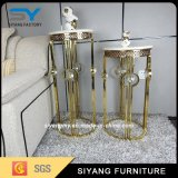 Home Furniture Nouveau design Gold Metal Flower Stand