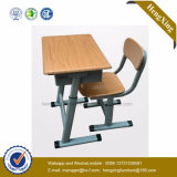 Двойные столы и стул студента для мебели школы (HX-5CH237)
