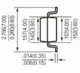 De Gelijkrichters van de Brug van Mbs 0.8A 1000V MB6s MB10s