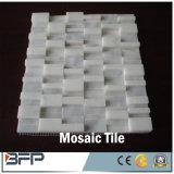 Mosaico di pietra naturale di arte travertino/del marmo per le mattonelle di pavimento cucina/della stanza da bagno