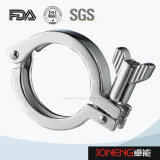 Тип струбцина Pin гигиенического двойника нержавеющей стали тяжелый (JN-CL2001)