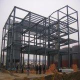 Entrepôt en acier fabriqué avec à trois niveaux