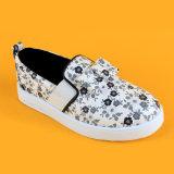 Дети моды печать Бабочки Canvas туфли обувь