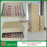 Alta etiqueta engomada del traspaso térmico de la elasticidad de Qingyi para la ropa