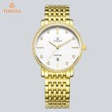 方法人の女性のギフトの手首の水晶腕時計の優雅な防水宝石類の腕時計72850