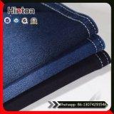 250GSM en coton polyester tricoté en tissu Jean avec étirement