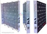 Ткань напряжения алюминиевого сплава хлопает вверх индикация стойки экспонатов торговой выставки