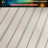 Дешевая широкая нашивка в ткани пряжи полиэфира покрашенной для подкладки пальто (S94.97)