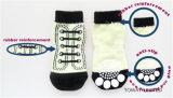 L'animal familier de tricotage personnalisé cogne les chaussettes en caoutchouc de crabot d'anti dérapage