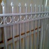 Clôture de l'aluminium panneau qualité décorative Factory Design clôtures avec revêtement en poudre American
