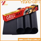 Garniture faite sur commande de BBQ de teflon de vaisselle de cuisine du barbecue facile de Cleam de couvre-tapis (XY-BBQ-KW-102)