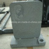 G633 luz - Headstone cinzento do granito