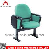Venta plegable Yj1601r de la silla de la iglesia de la mejor tela de la calidad