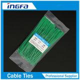 プラスチックジッパーは束ケーブルおよびワイヤーのためのナイロンケーブルのタイを結ぶ