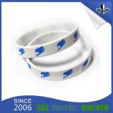 Bracelet de silicones rempli par couleur blanche populaire