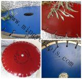 La hoja de sierra de diamante para asfalto y materiales abrasivos