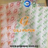 Papier transparent estampé par OEM pour le conditionnement des aliments avec le bon prix