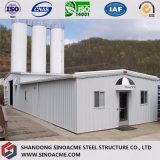 Edificio de acero de la construcción para la planta industrial