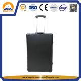 Casella di memoria nera della cassa del carrello dello strumento di professione con gomma piuma su ordinazione (HT-3025)