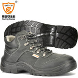 Sc6579を働かせるために帯電防止鋼鉄つま先を搭載するPUの注入の安全靴
